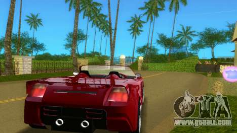 Toyota MR-S Veilside Spider for GTA Vice City right view