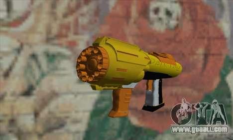 Nerf Gun for GTA San Andreas