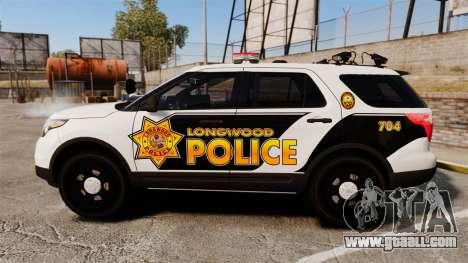 Ford Explorer 2013 LCPD [ELS] v1.5X for GTA 4 left view