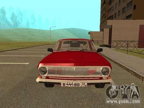 GAZ Volga 24-10 for GTA San Andreas left view