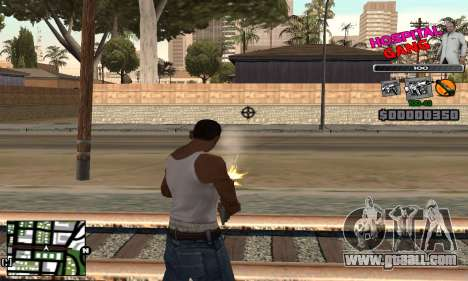 C-HUD Hospital for GTA San Andreas third screenshot