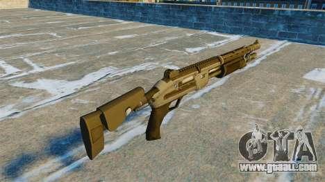 Pump-action shotgun Marshall v 2.0 for GTA 4 second screenshot