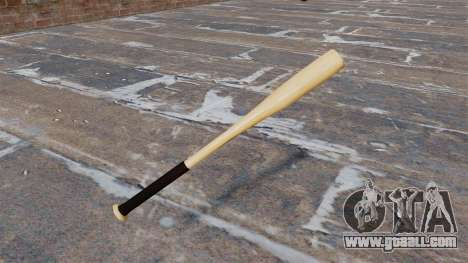 HD wood baseball bat for GTA 4