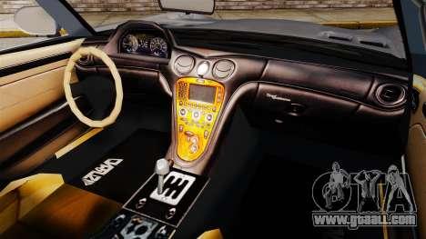 GTA V Benefactor Surano v3.0 for GTA 4 back view