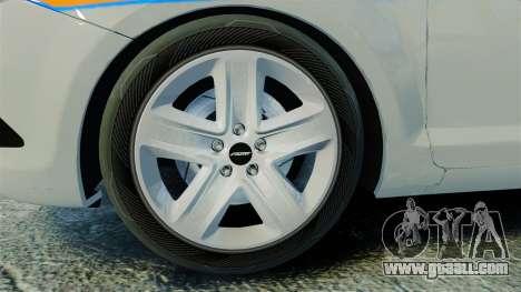 Ford Focus Metropolitan Police [ELS] for GTA 4 back view