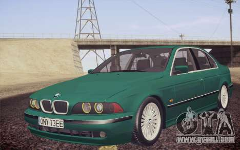 BMW M5 E39 528i Greenoxford for GTA San Andreas