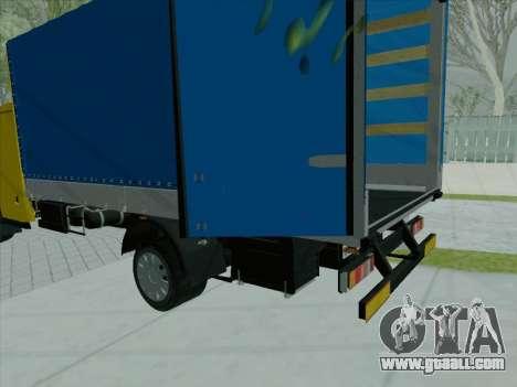 The active dashboard v 3.2.1 for GTA San Andreas third screenshot