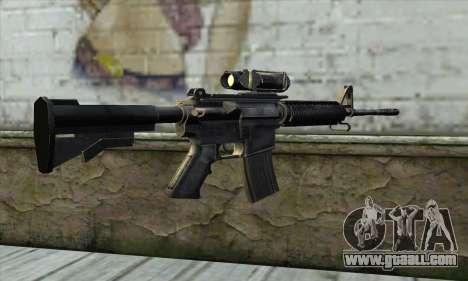 M4A1 Carbine Assault Rifle for GTA San Andreas second screenshot