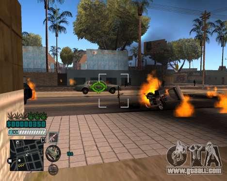 C-HUD v1 for GTA San Andreas third screenshot