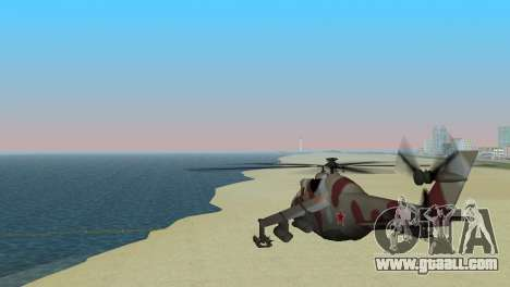 Mi-24 Krokodil for GTA Vice City