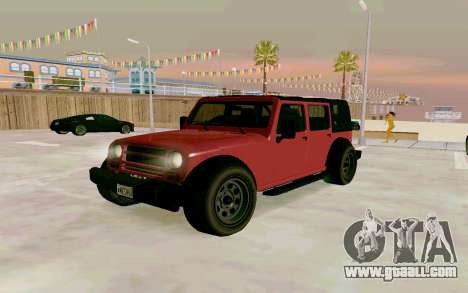GTA V Mesa for GTA San Andreas