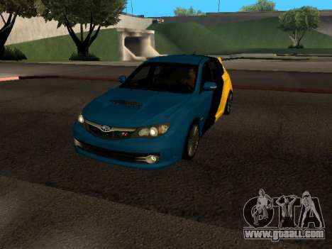 Subaru Impreza STi for GTA San Andreas