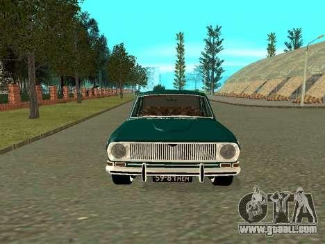 GAS 24-01 Volga for GTA San Andreas left view