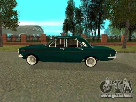 GAS 24-01 Volga for GTA San Andreas back left view