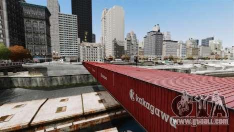 New bridge in East island city for GTA 4 third screenshot