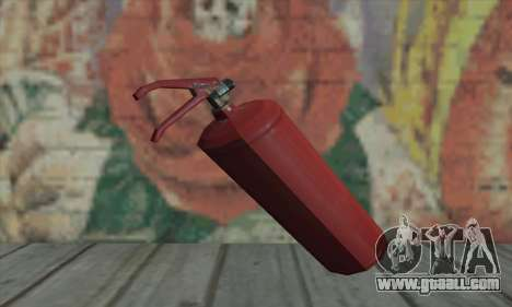 Fire extinguisher from L4D for GTA San Andreas second screenshot