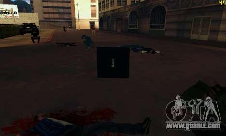 Notebook mod v1.0 for GTA San Andreas sixth screenshot