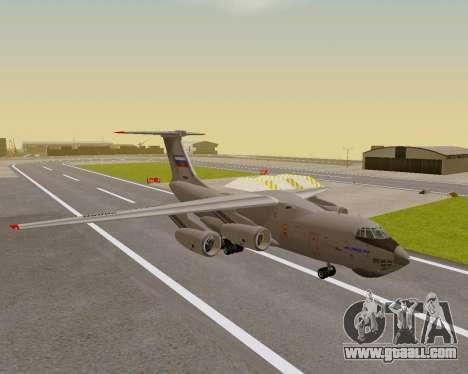 Il-76md-90 (IL-476) for GTA San Andreas