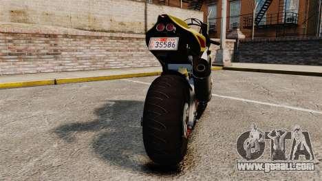 Aprilia RSV4 for GTA 4 back view