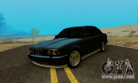 BMW M5 E34 1992 for GTA San Andreas right view