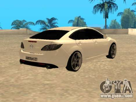 Mazda 6 2010 for GTA San Andreas left view