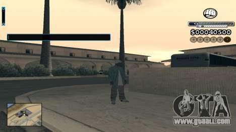 C-HUD v1.0 for GTA San Andreas second screenshot