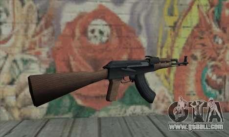 AK47 for GTA San Andreas second screenshot