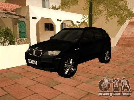 BMW X5 E70 2009 for GTA San Andreas