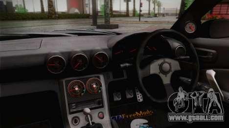 Nissan S15 Street Edition Djarum Black for GTA San Andreas right view