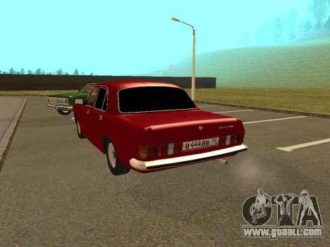 GAZ Volga 24-10 for GTA San Andreas right view