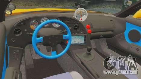 Toyota Supra RZ 1998 (Mark IV) Bomex kit for GTA 4 inner view