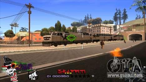 C-HUD Markus for GTA San Andreas third screenshot