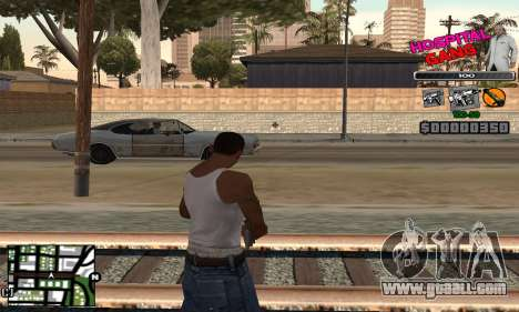 C-HUD Hospital for GTA San Andreas second screenshot