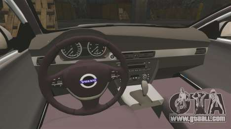 Volvo V70 South Wales Police [ELS] for GTA 4 inner view