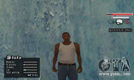 C-HUD v2 for GTA San Andreas