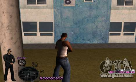 C-HUD Woozie for GTA San Andreas second screenshot