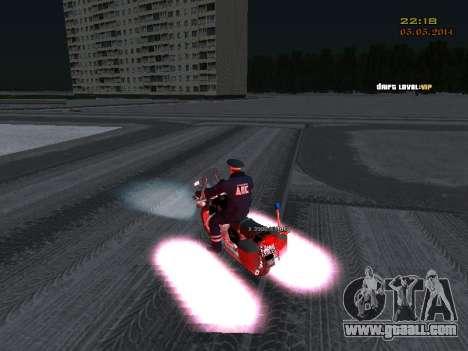 Pak DPS in a winter format for GTA San Andreas seventh screenshot