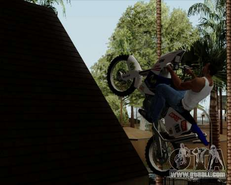 KTM 450 for GTA San Andreas back view