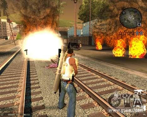 C-HUD CS:GO for GTA San Andreas second screenshot