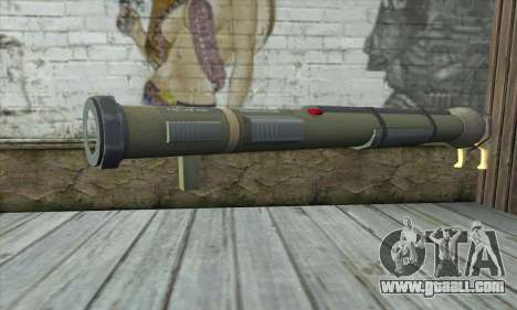 The rocket launcher from Pstal 3 for GTA San Andreas