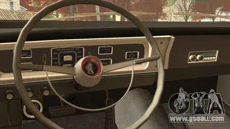 Plymouth Belvedere 2-door Sedan 1965 for GTA San Andreas right view