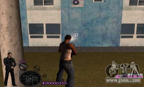 C-HUD Woozie for GTA San Andreas forth screenshot