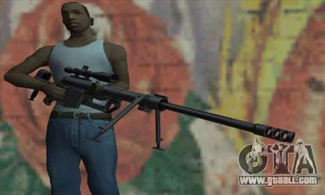 Black M200 Intervention for GTA San Andreas third screenshot
