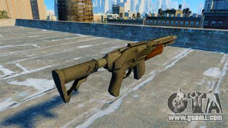 Semi-automatic shotgun Jackal for GTA 4 second screenshot
