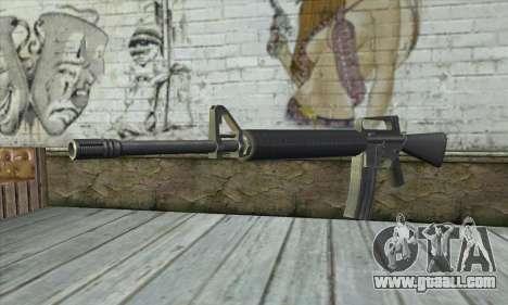 M4A1 из Postal 3 for GTA San Andreas