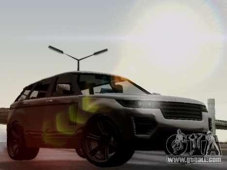 Baller 2 из GTA V for GTA San Andreas back view