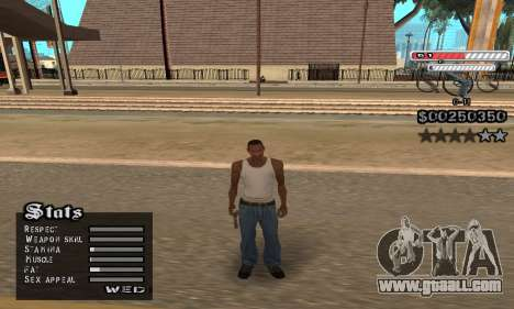 C-HUD v2 for GTA San Andreas forth screenshot
