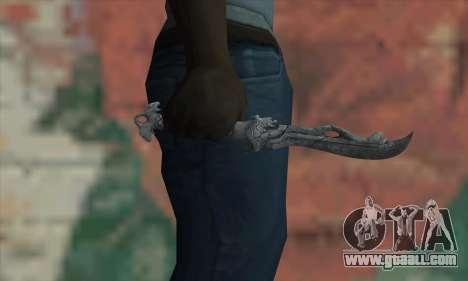 Chinese knife for GTA San Andreas third screenshot