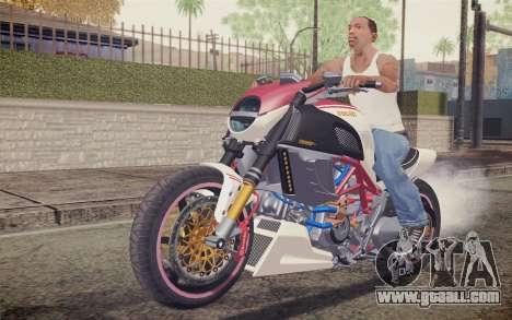 Ducati Diavel Carbon 2011 for GTA San Andreas left view