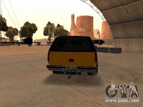 GMC Yukon for GTA San Andreas right view